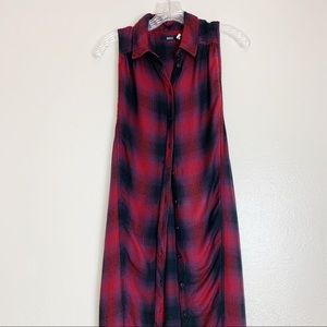 Urban Outfitters BDG Flannel Shirt Dress